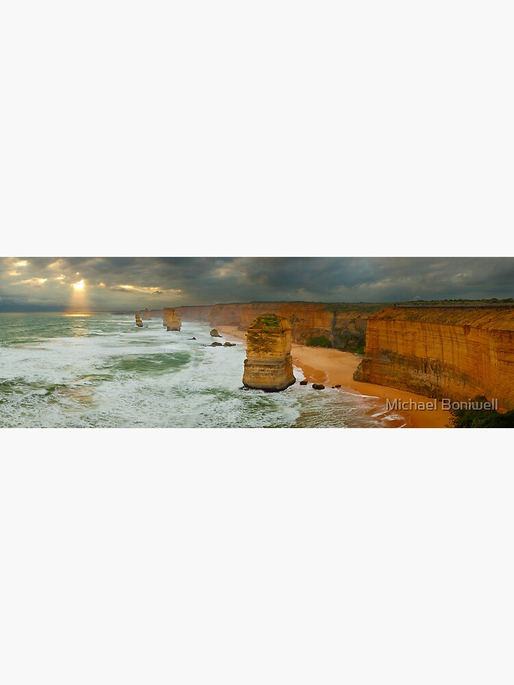 Stormy Twelve Apostles, Great Ocean Road, Victoria, Australia by Chockstone