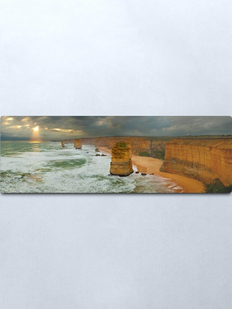 Alternate view of Stormy Twelve Apostles, Great Ocean Road, Victoria, Australia Metal Print