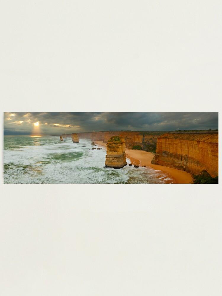 Alternate view of Stormy Twelve Apostles, Great Ocean Road, Victoria, Australia Photographic Print