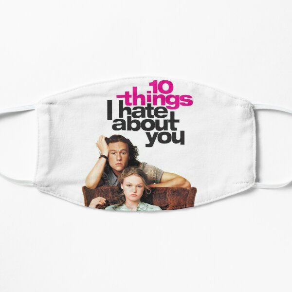 10 Things I Hate About You poster Flat Mask