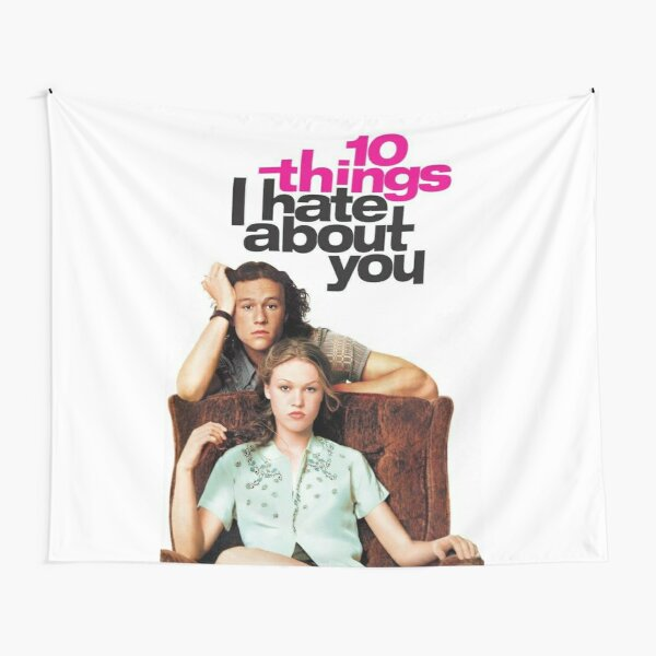 10 Things I Hate About You poster Tapestry