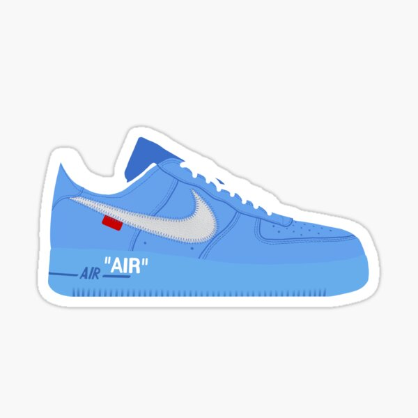 Off white AF1 Glossy Sticker