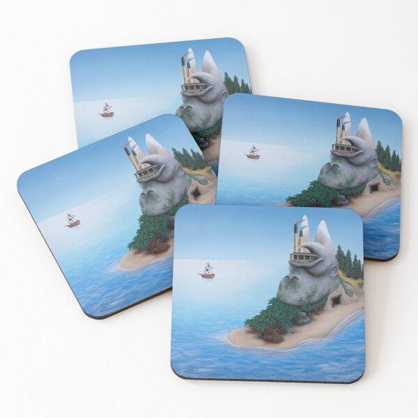 DK Island Coasters (Set of 4)