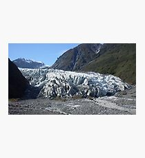 Glacier Face  Photographic Print