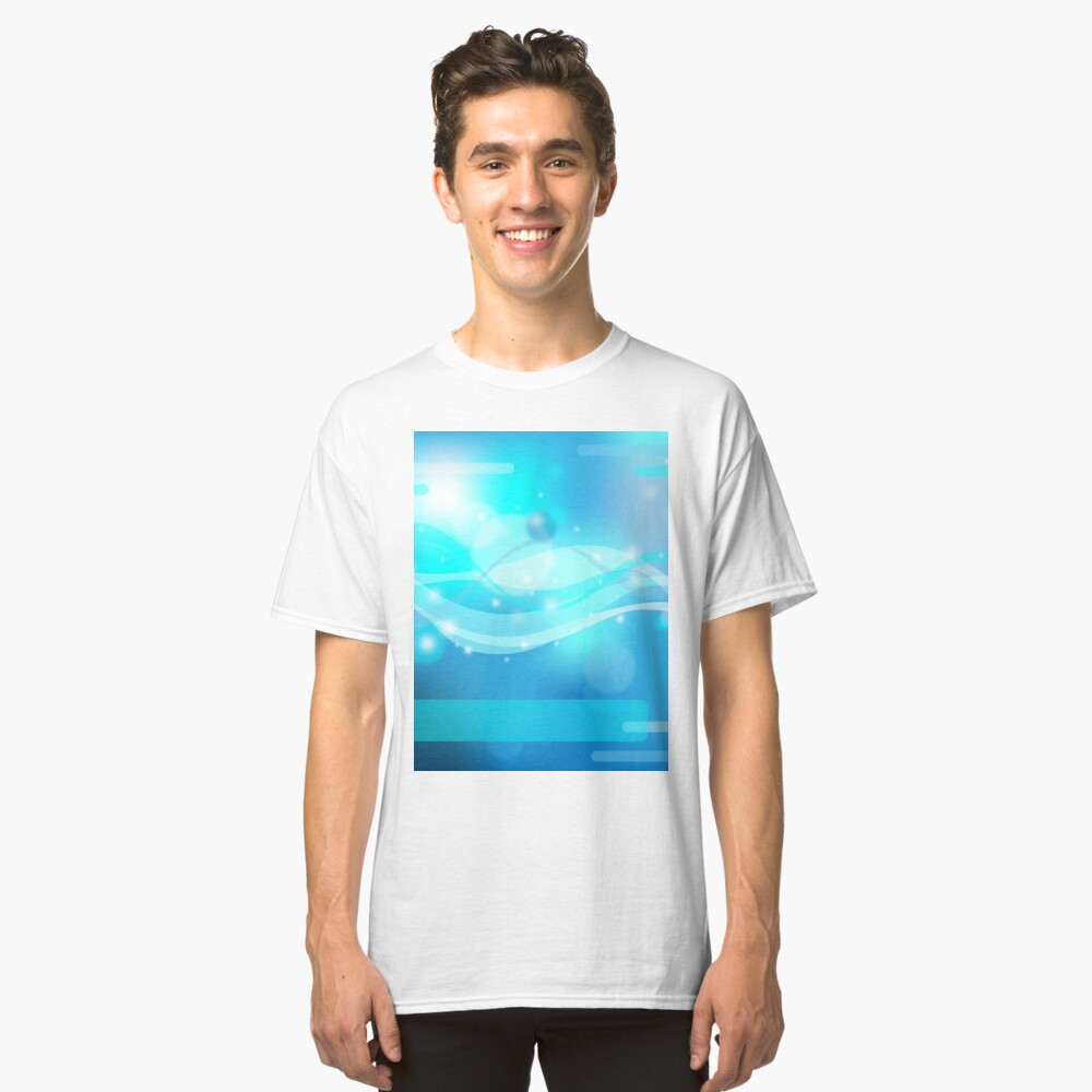 Abstract background Classic T-Shirt Front