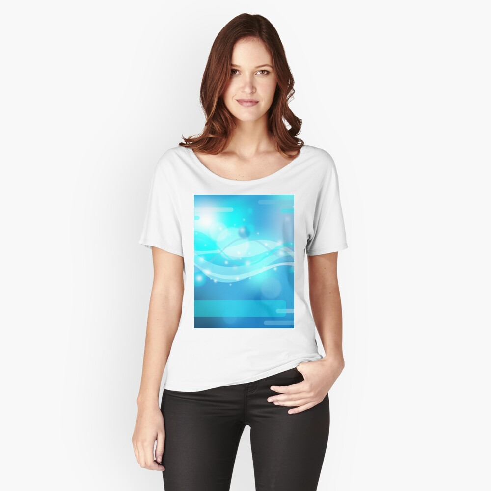 Abstract background Women's Relaxed Fit T-Shirt Front