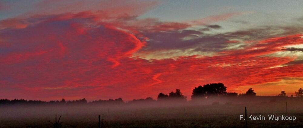 Sunrise Grand Travers County, MI, 2013 by F.  Kevin  Wynkoop