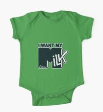 I Want My MILK One Piece - Short Sleeve