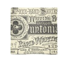 The Duntonian System of Rapid Writing Primer Scarf