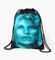 Breaking Bad blue Drawstring Bag