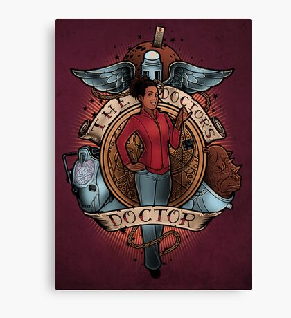 The Doctor's Doctor Canvas Print