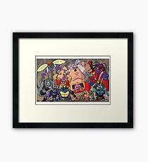Clan of the Foot Framed Print
