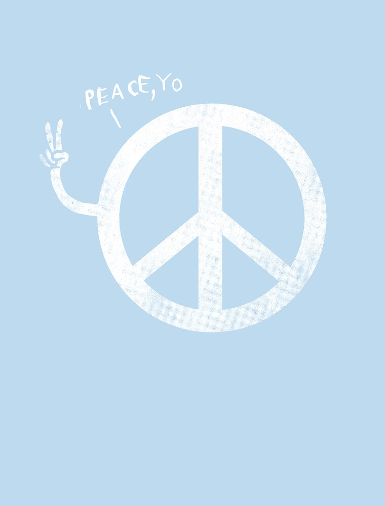 peace yo, by Jonah Block