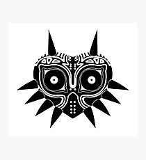 The Legend of Zelda Majora's Mask Photographic Print