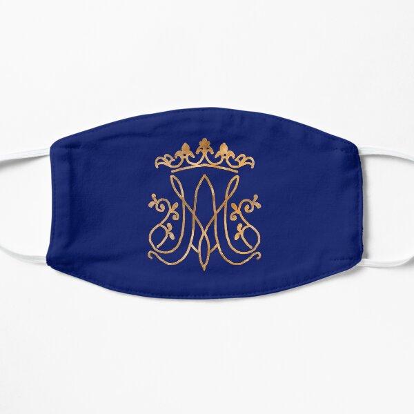 Ave Maria monogram Flat Mask