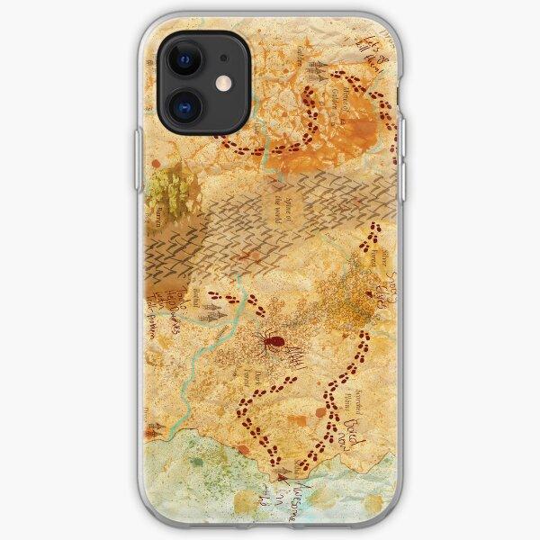 D&D Map iPhone Soft Case