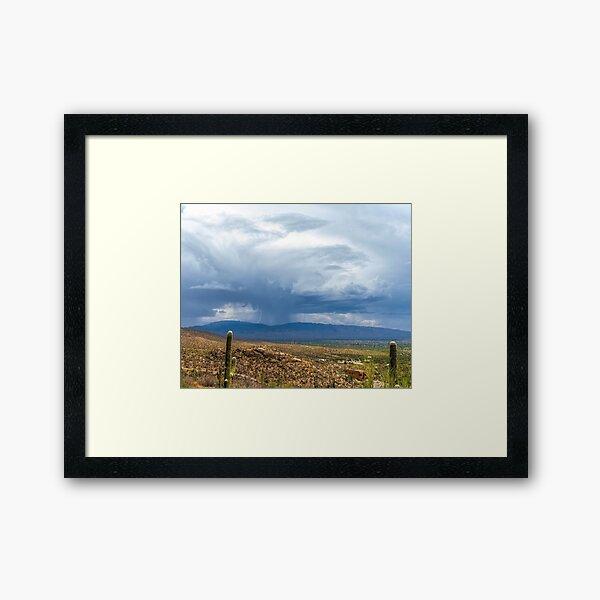 Thunderstorm Framed Art Print