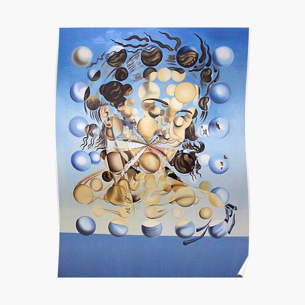 Salvador Dali - Galatea of the Spheres Poster