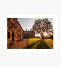 Merton College Sunrise Art Print