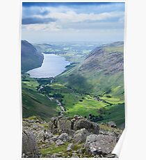 Wast Water, Lake District National Park Poster