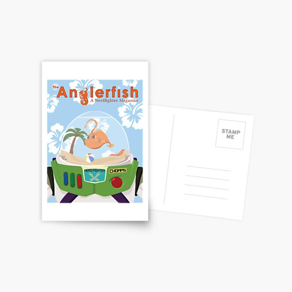 The Anglerfish Issue 6 - Chomps of Star Command Postcard