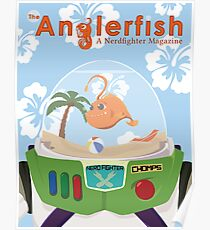 The Anglerfish Issue 6 - Chomps of Star Command Poster