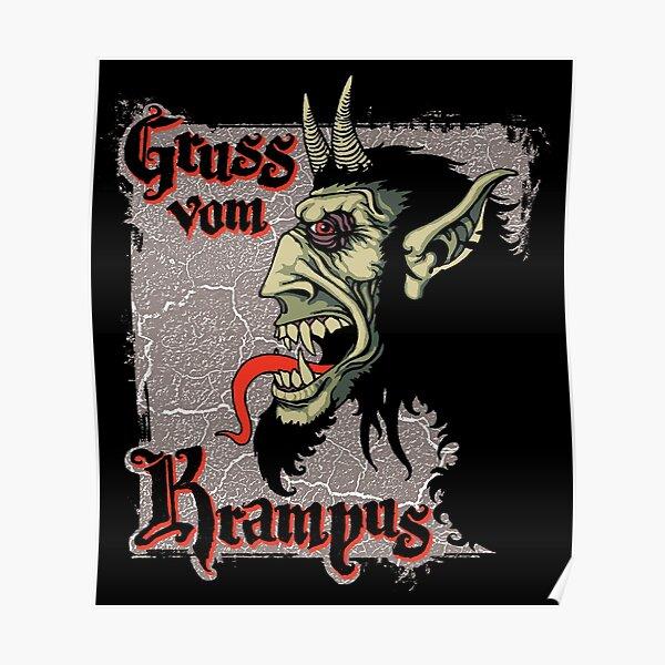 Gruss vom Krampus! Poster