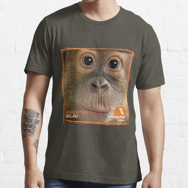 Orangutan Eyes - Windows to their Soul Essential T-Shirt