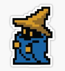 8 Bit Wizard/Dark Mage Sticker