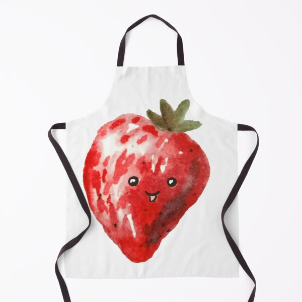 Happy Strawberry Apron