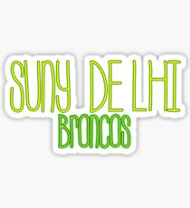 SUNY Delhi Broncos Sticker