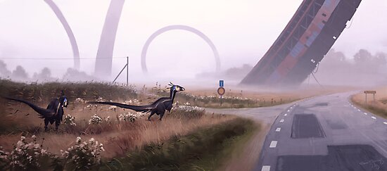 Septemberjägare by Simon Stålenhag