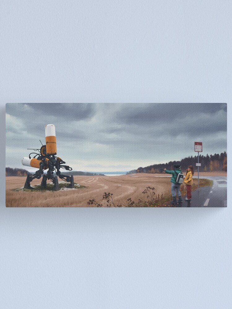 Alternate view of Åkersnuten Canvas Print