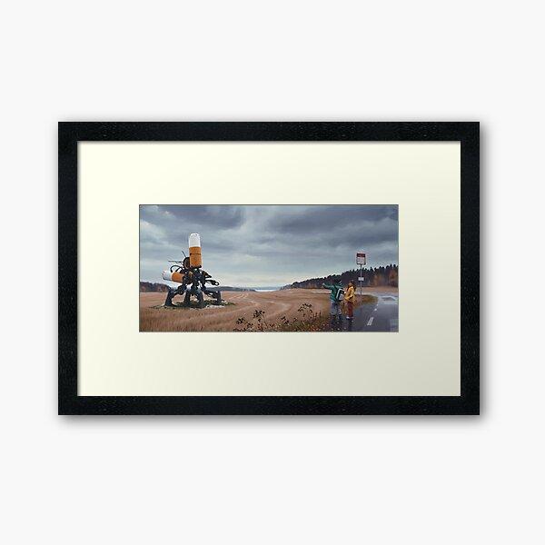 Åkersnuten Framed Art Print