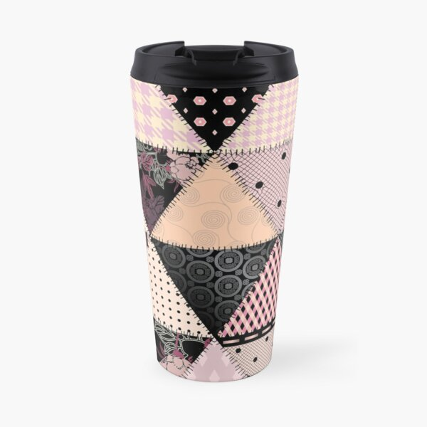Patchwork pattern Travel Mug