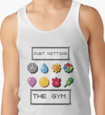 Pokemon hitting the gym Tank Top