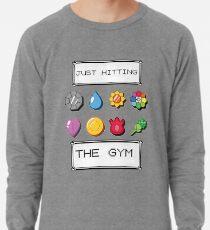 Pokemon im Fitnessstudio Leichter Pullover