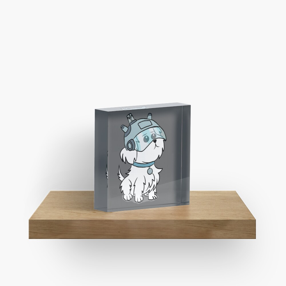 Snuffles | Rick and Morty Acrylic Block