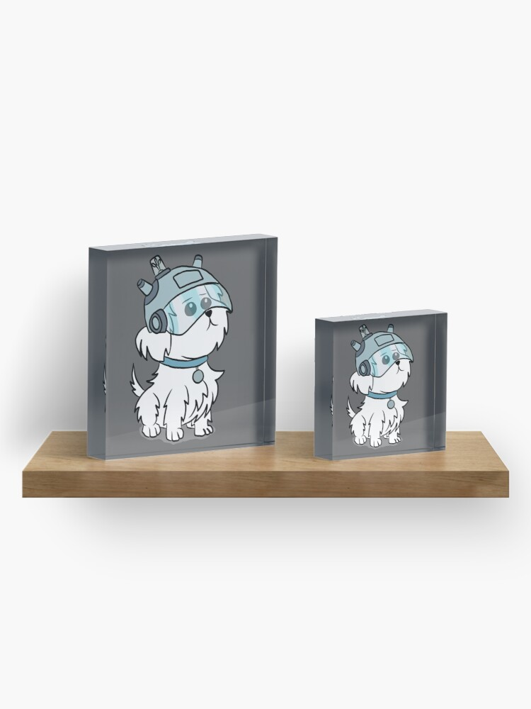 Alternate view of Snuffles | Rick and Morty Acrylic Block