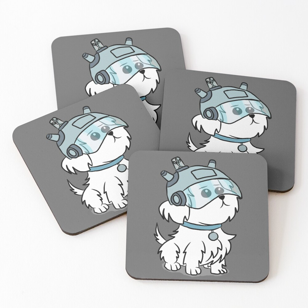 Snuffles | Rick and Morty Coasters (Set of 4)