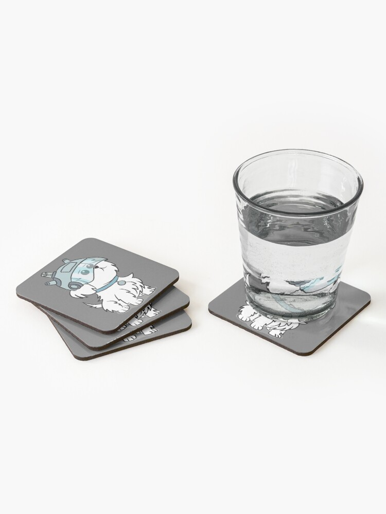 Alternate view of Snuffles | Rick and Morty Coasters (Set of 4)