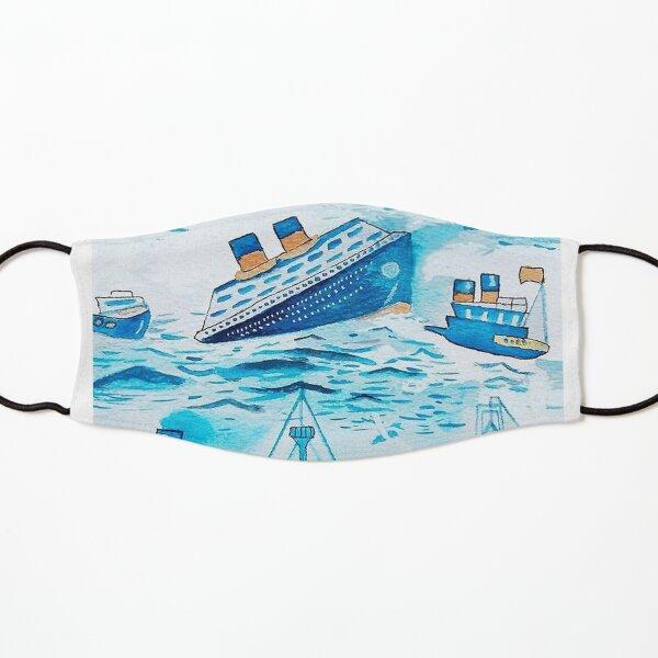 ferry boat scrub cap Kids Mask