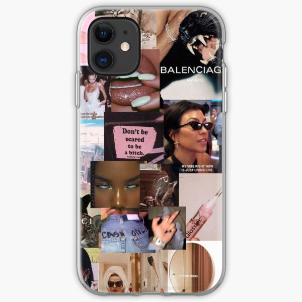 vsco collage boujee no. 4 iPhone Soft Case