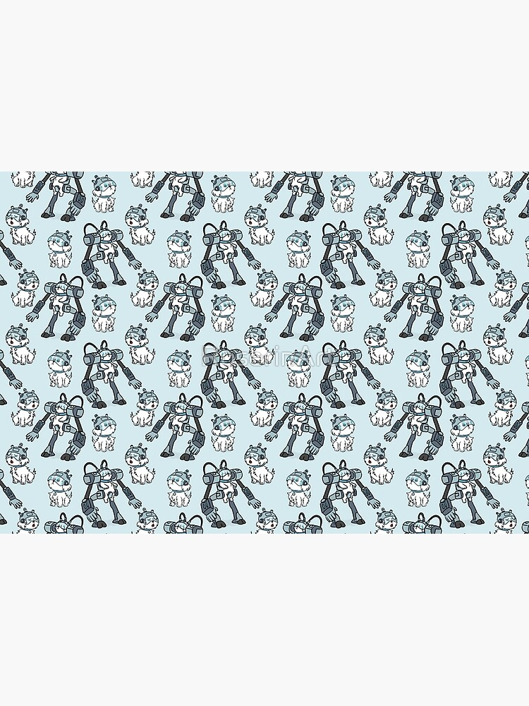 Snuffles/Snowball Pattern - Rick and Morty by RoserinArt