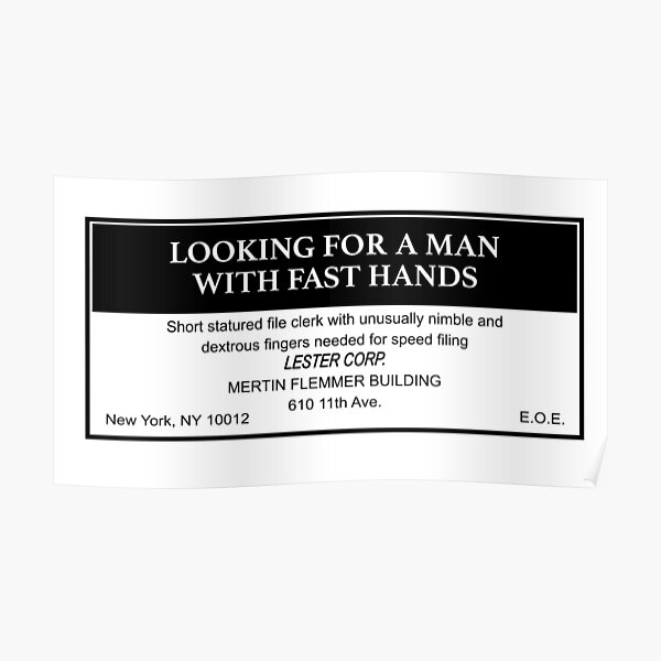 Being John Malkovich Lestercorp Classified Ad Poster