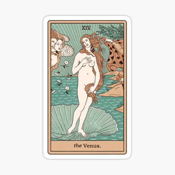 The Venus Sticker
