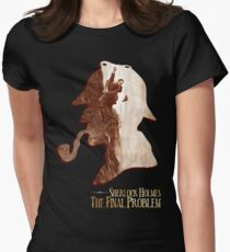 Sherlock Holmes The Final Problem T-Shirt Womens Fitted T-Shirt