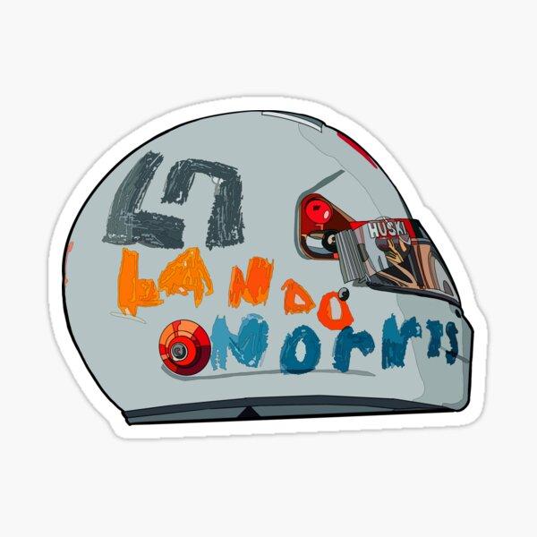 Lando Norris EVA helmet Sticker