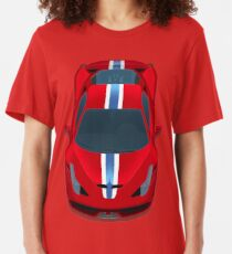 458 Red Horses Slim Fit T-Shirt