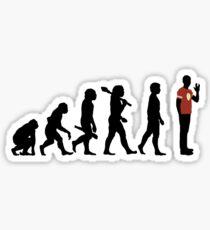 The Next Step in Evolution Sticker